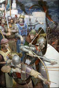 La Caduta di Gondolin by Denis Gordeev.jpg