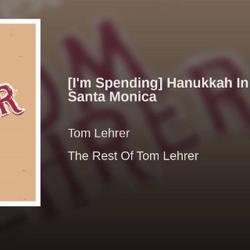 (I'm Spending) Hanukkah In Santa Monica