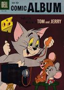 Comic Album 12 - Dell - Dec 1960 Feb 1961 - Cover