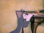 Dog Trouble - Tom looking at Jerry
