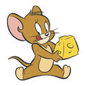 Jerry with a cheese