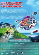 Tom and Jerry Spy Quest back cover