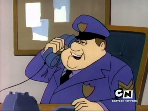 See Dr. Jackal and Hide - Sergeant Farce on the phone.png