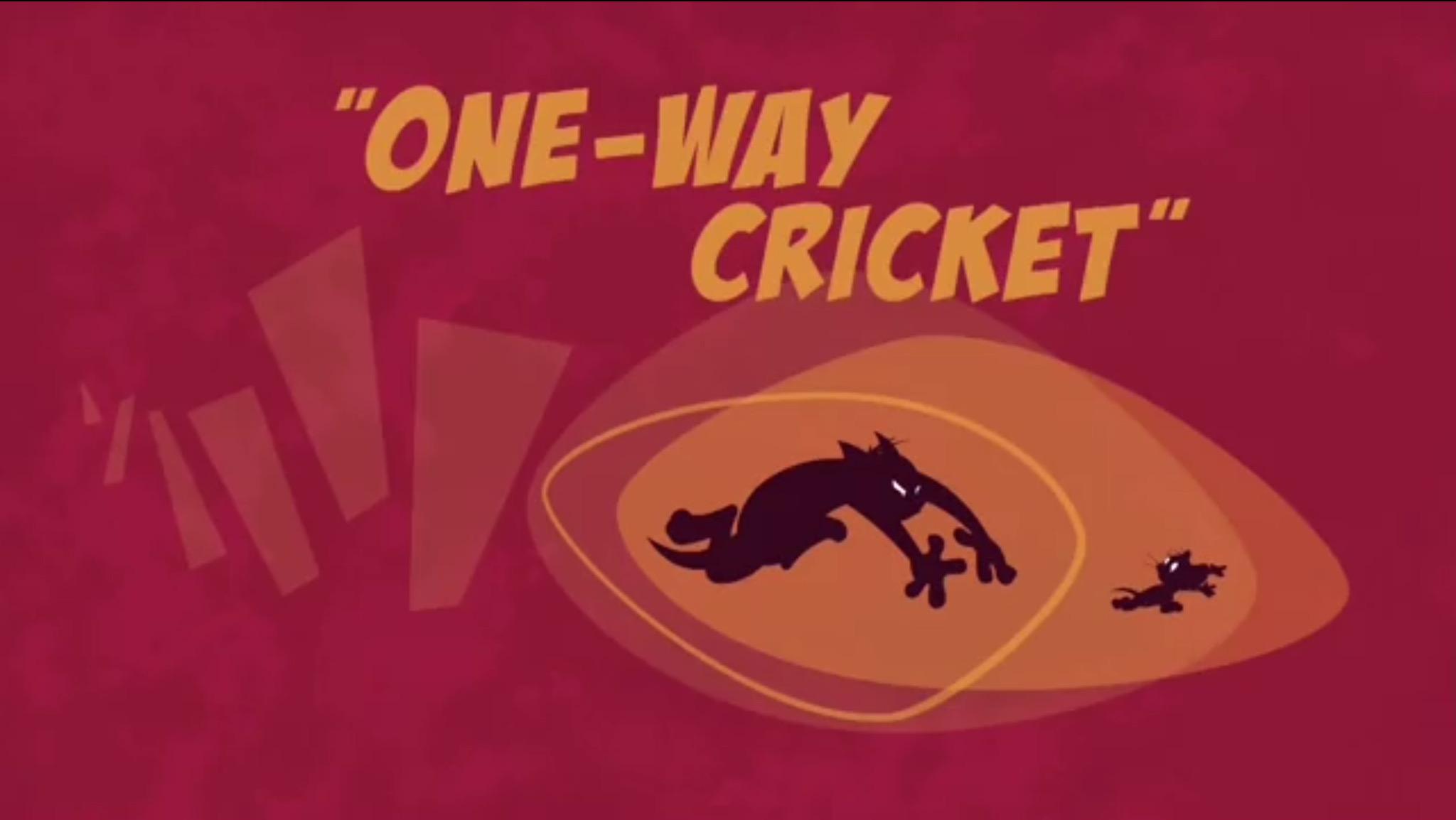 One-Way Cricket