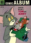 Comic Album 8 - Dell - Dec 1959 Feb 1960 - Cover