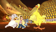 Tom and Jerry's Giant Adventure - Tuffy, Jack, Tom, Jerry and Golden Goose