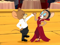 Tom and Jerry Tales - Toots Flamingo dancing