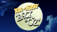 Tom and Jerry Back to Oz title