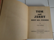 Big Little Book - Tom and Jerry Meet Mr Fingers - 1967 - 02