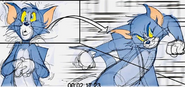 Tom and Jerry Live-Action Animation Hybrid film Animatic 4