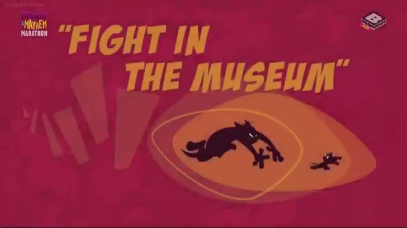 Fight in the Museum