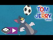 The Tom and Jerry Show - Football Challenge - Boomerang UK 🇬🇧