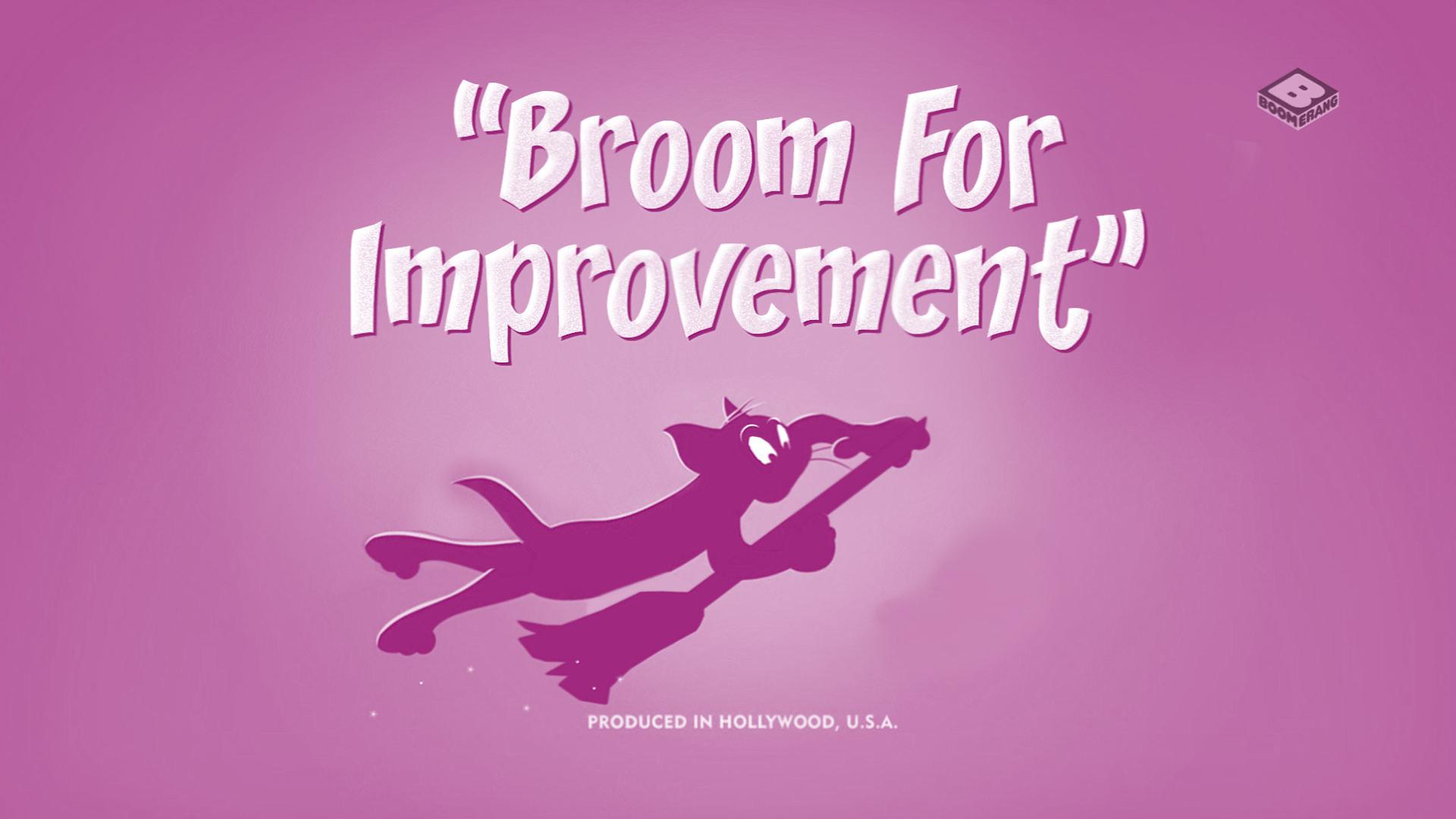 Broom for Improvement