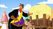 Barney Bear and Benny Burro in Tom and Jerrys Giant Adventure