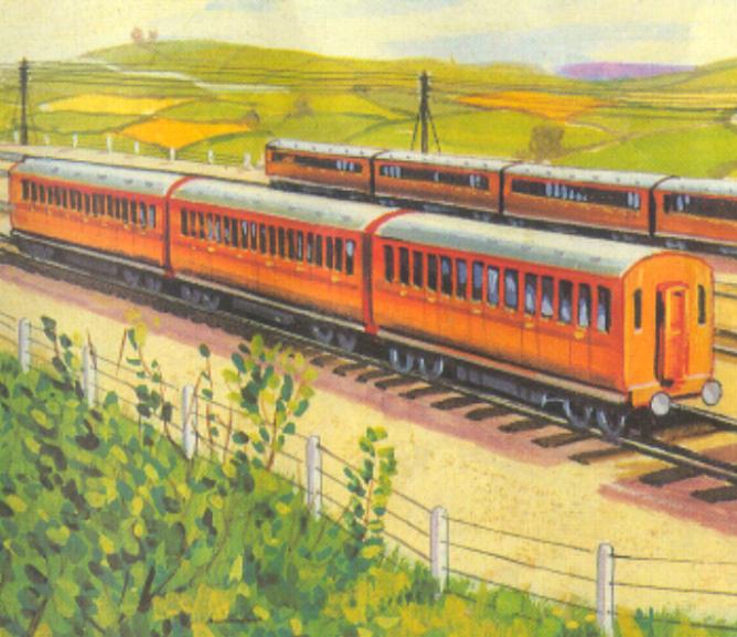 Пригородные вагоны LMS