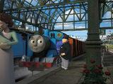 Томас и ребёнок