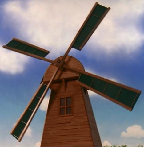 Ветряная мельница Тоби