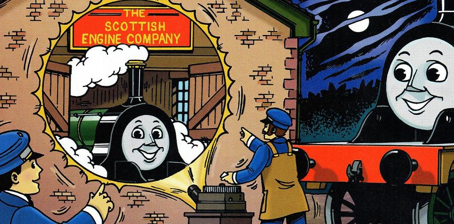 Шотландская локомотивная компания