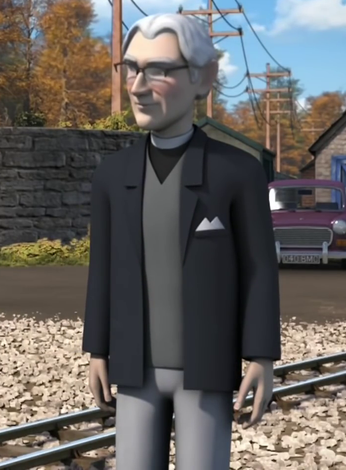 Худой священник