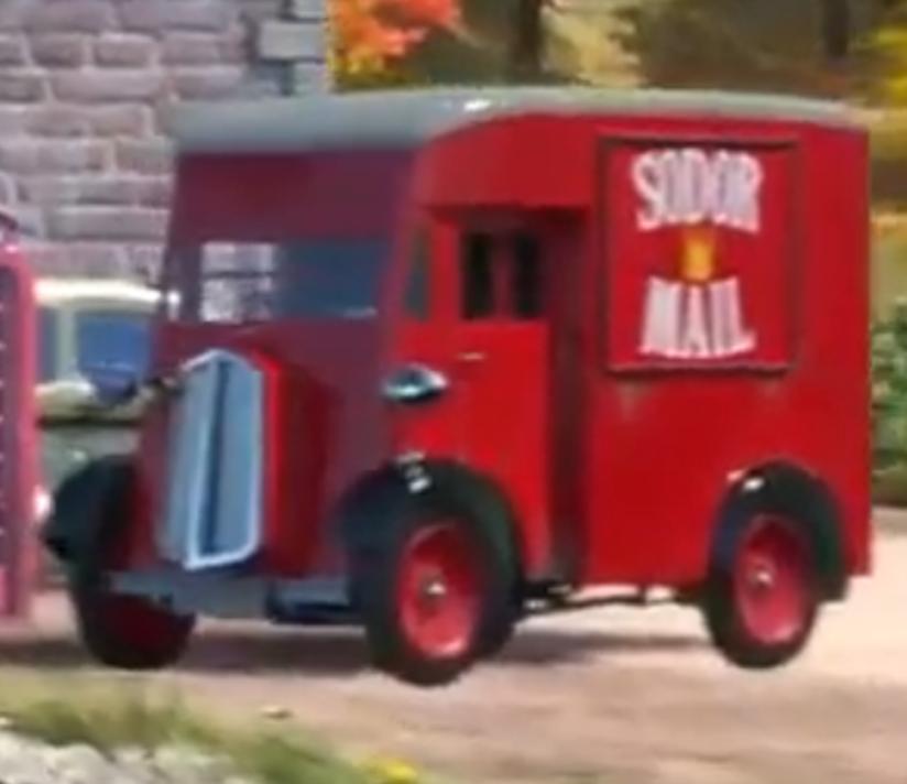 Почтовый фургон
