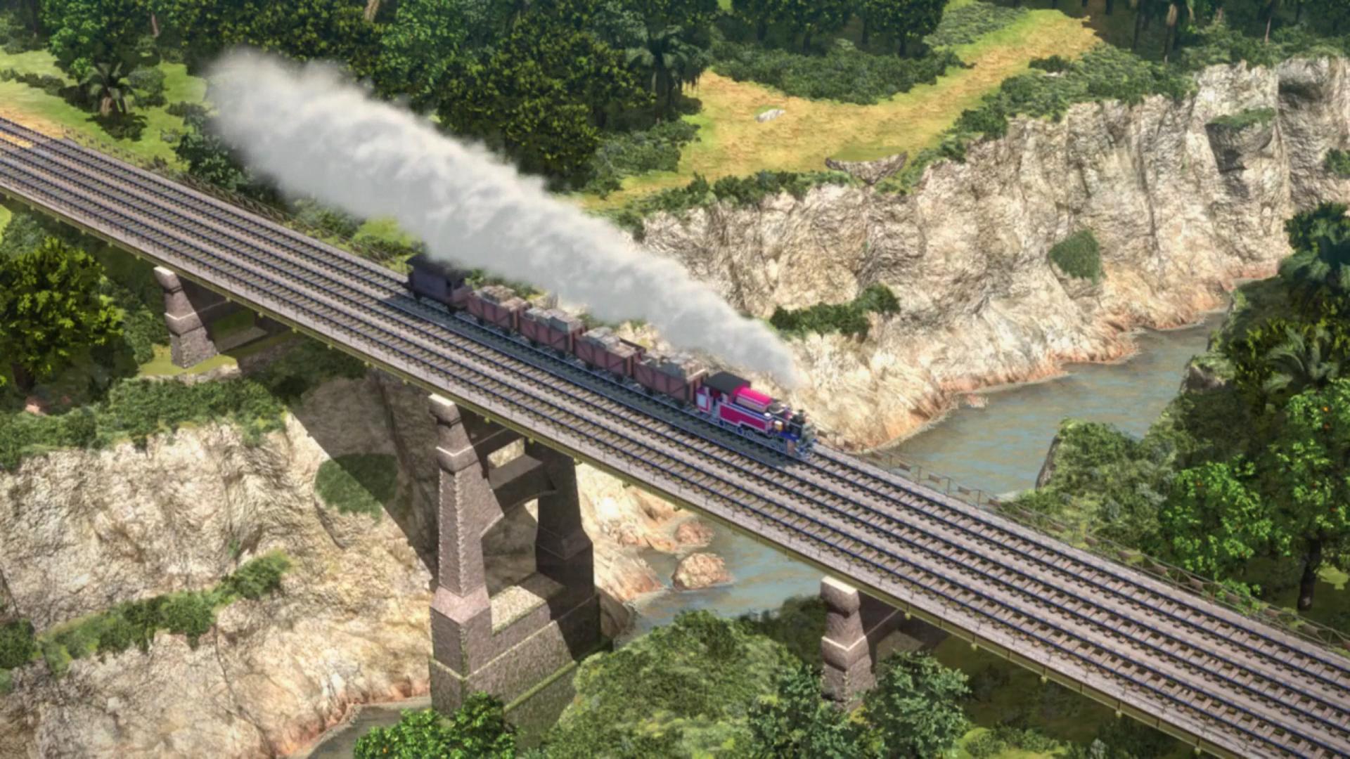 Индийский балочный мост