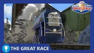The Great Race Vinnie of North America The Great Race Railway Show Thomas & Friends