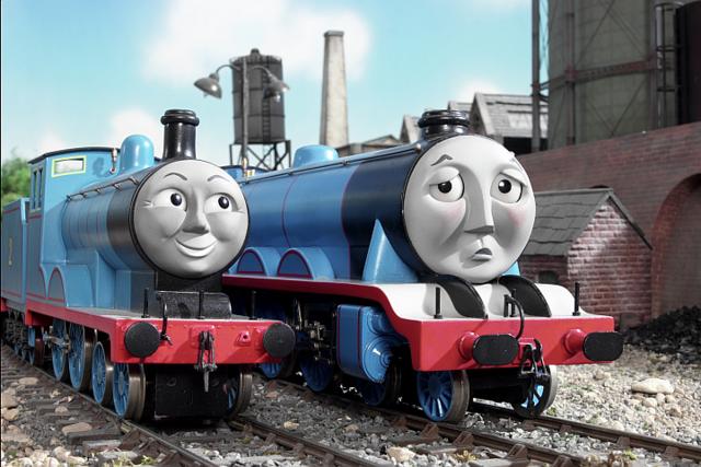Эдвард - очень нужный паровоз