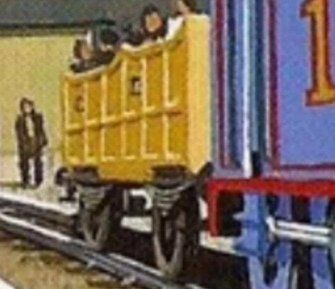 Открытые верхом вагоны (стандартная колея)