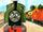 Тёмно-зелёный паровозик
