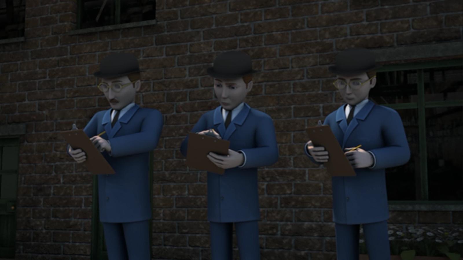 Три железнодорожных инспектора