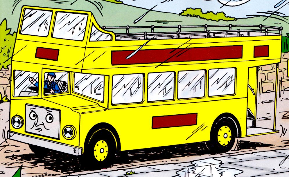 Двухэтажный Автобус С Открытым Верхом