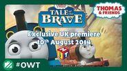 Thomas & Friends UK Tale Of The Brave London Premier