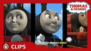 Race with You - Sing-along Karaoke Song - Start Your Engines! - Thomas & Friends UK