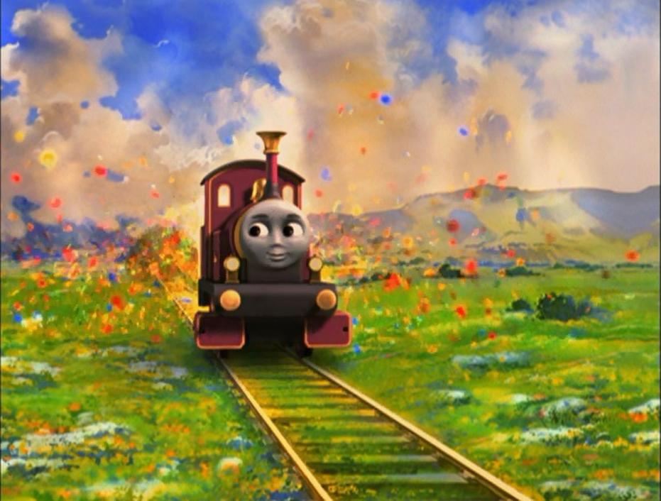 Волшебная железная дорога