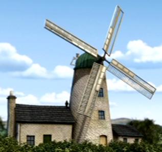 Башенная ветряная мельница