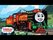 Yong Bao and the Monster in the Tunnel - Great Race Friends Near and Far - Thomas & Friends