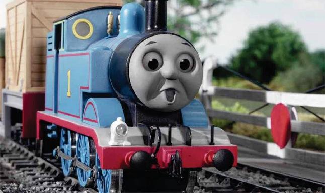 Томас - реактивный двигатель