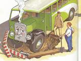 Зелёный автобус