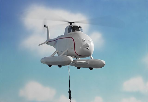 Плохой день вертолёта Гарольда