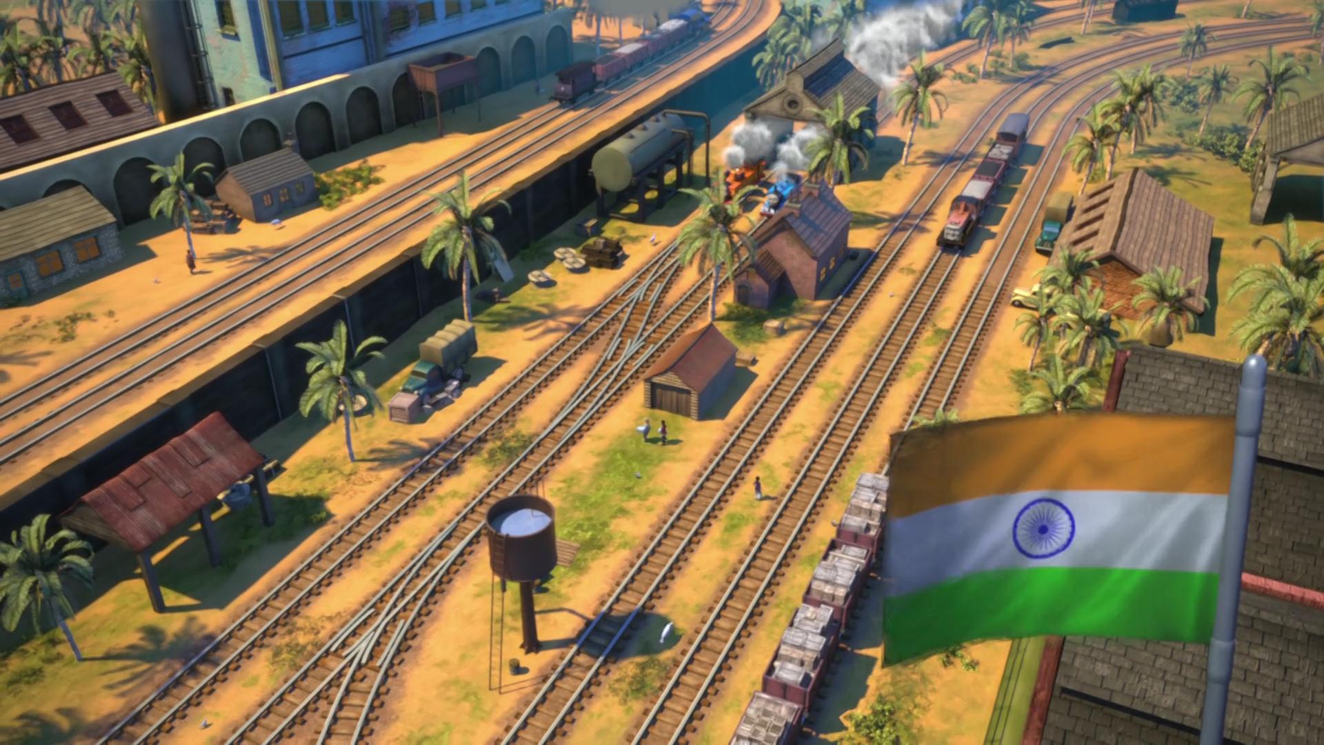 Индийский маневровый двор