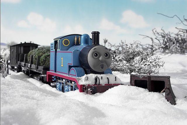 Это всего лишь снег