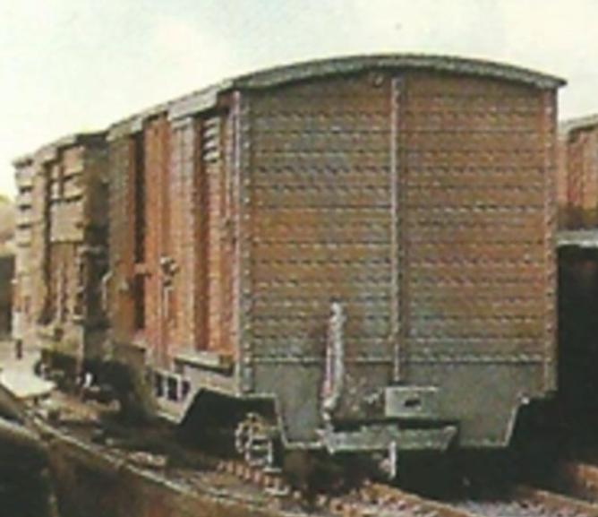 Крытые вагоны ÖBB