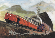 Железнодорожные вагоны Калди Фелл