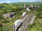 Железная дорога поместья