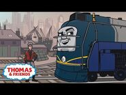 Vinnie Is Back in America - Great Race Friends Near and Far - Thomas & Friends