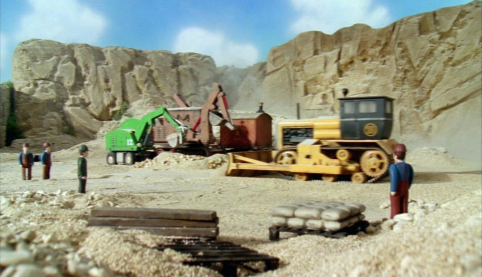 Каменоломня строительной площадки