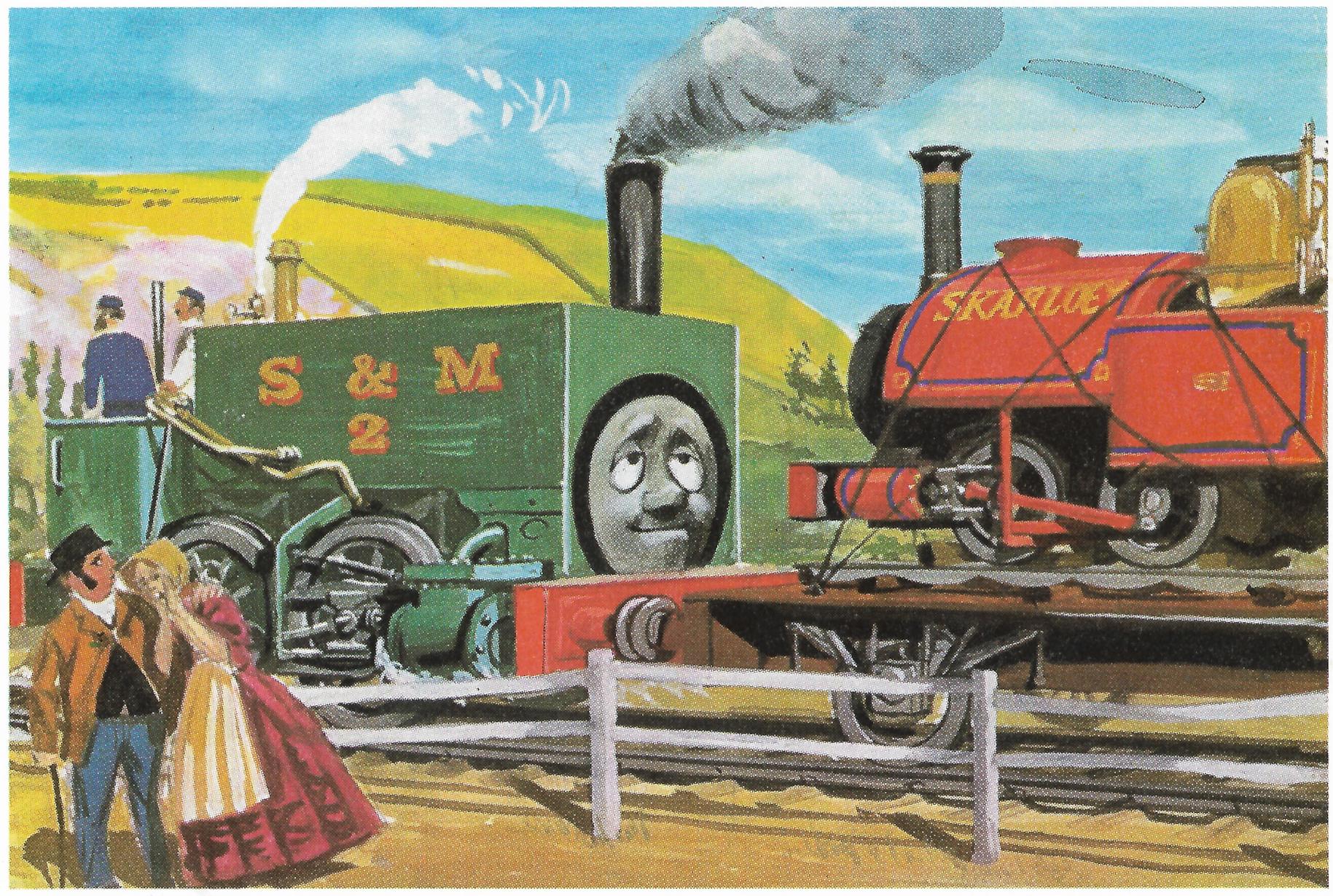 Железная дорога Содора и Материка