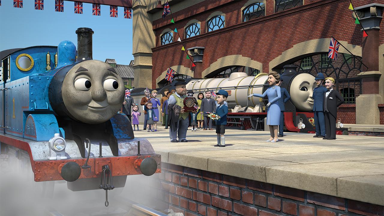 Томас и королевский поезд