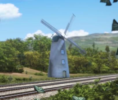 Ветряная мельница главной линии
