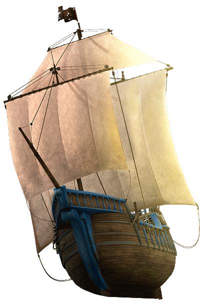 Пиратский корабль капитана Кальса
